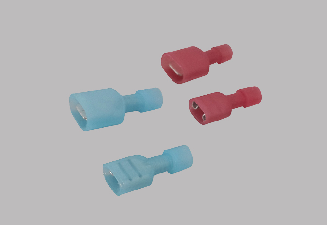 NYLON-FULY INSULATED FEMALE TERMINALS